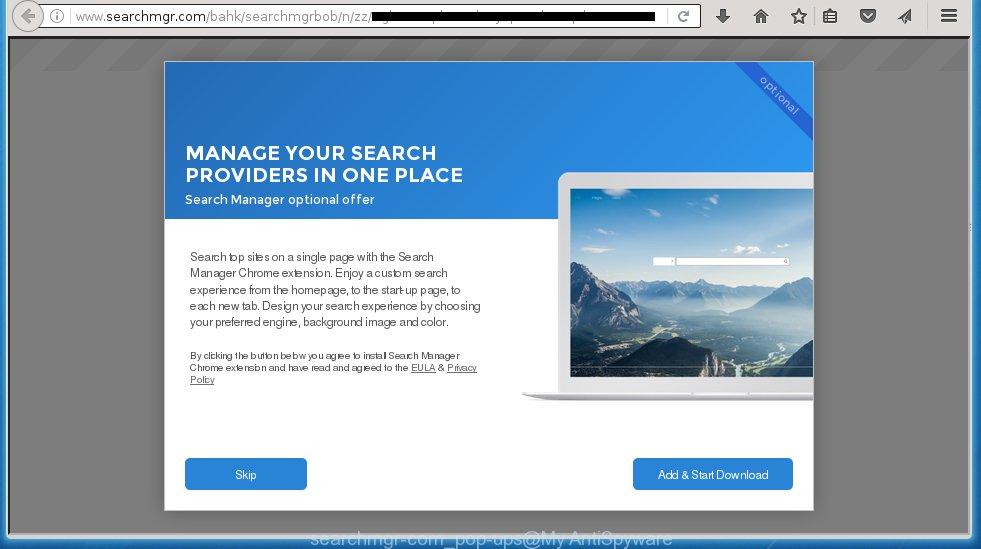 searchmgr-com pop-up