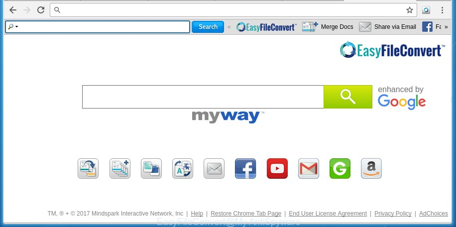 How to remove EasyFileConvert toolbar [Chrome, Firefox, IE, Edge]