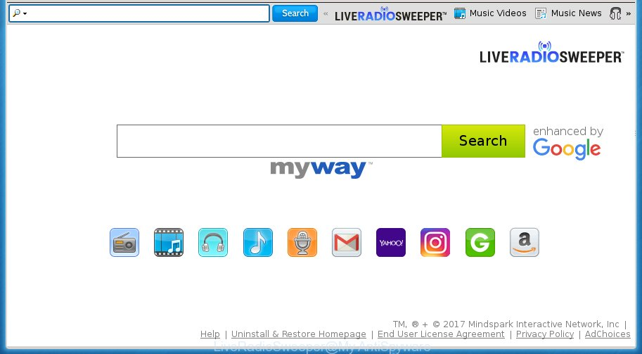 LiveRadioSweeper by MyWay