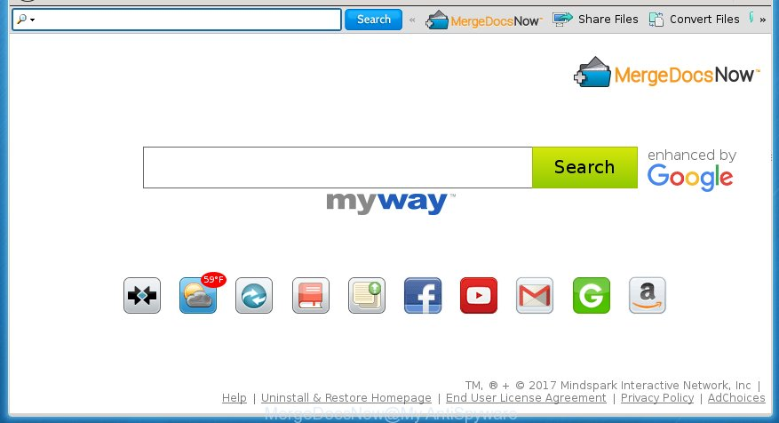 how to get rid of myway on chrome