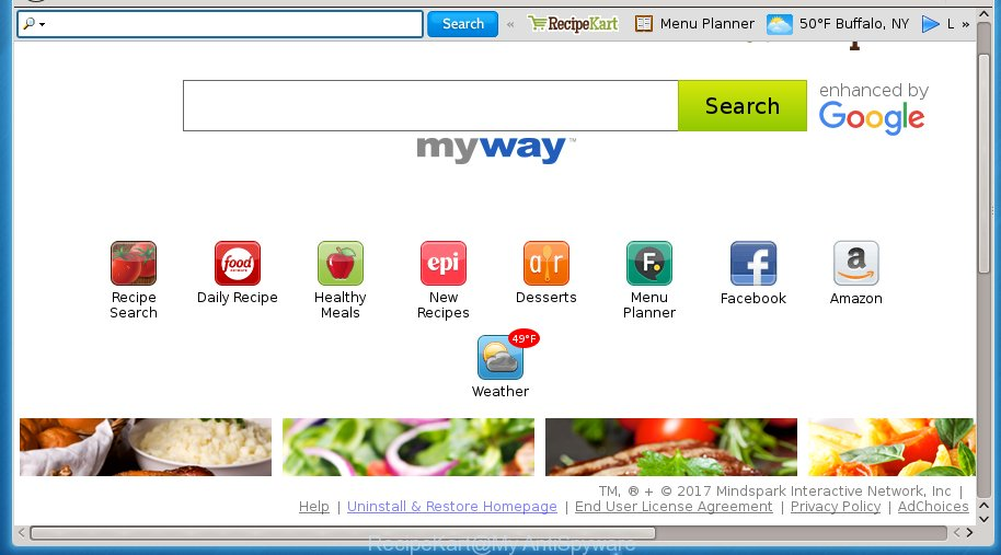 RecipeKart by MyWay