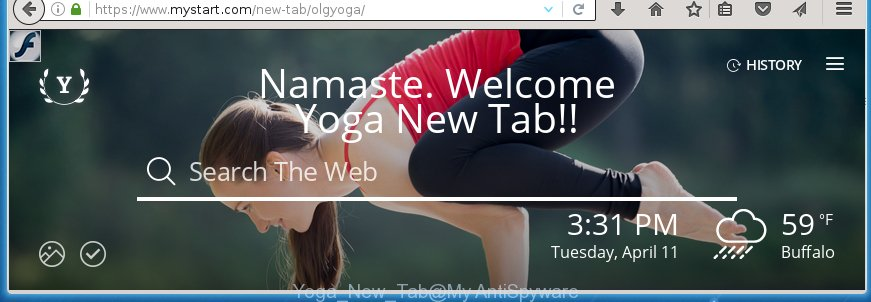 Yoga New Tab