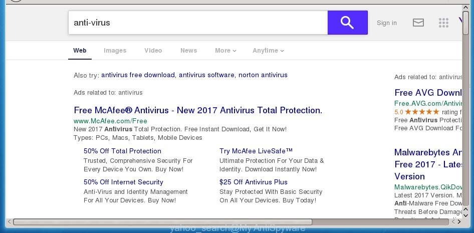 How to remove Yahoo Search virus [Chrome, Firefox, IE, Edge]