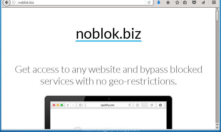How to remove Noblok biz [Chrome, Firefox, IE, Edge]