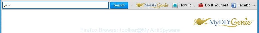 Firefox Browser toolbar