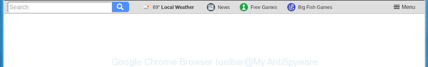 Google Chrome Browser toolbar