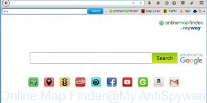 Online Map Finder