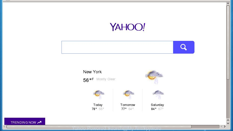 Yahoo Powered Search virus
