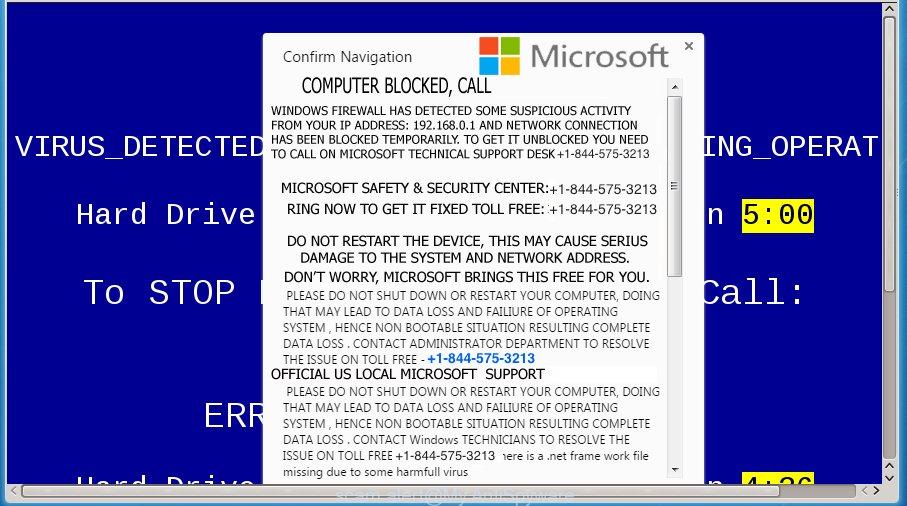 Error Code 0x214aL scam alert