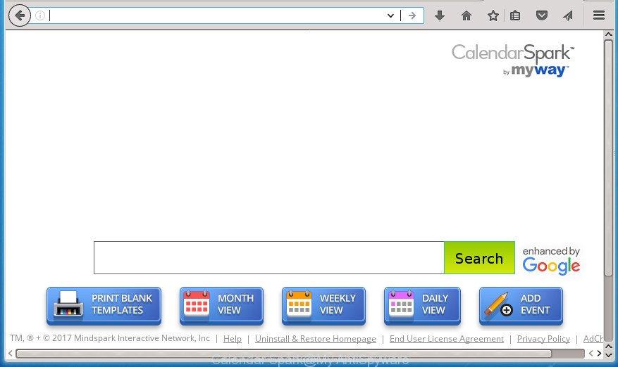 How to remove Calendar Spark [Chrome, Firefox, IE, Edge]