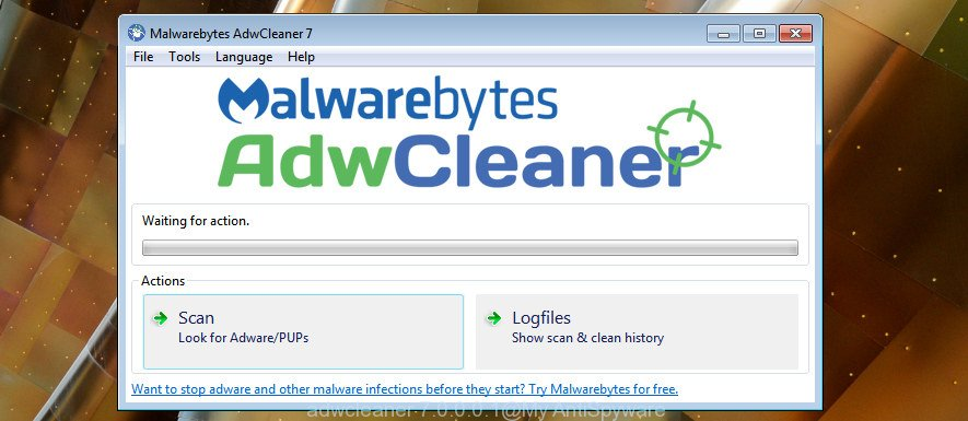 AdwCleaner for Microsoft Windows