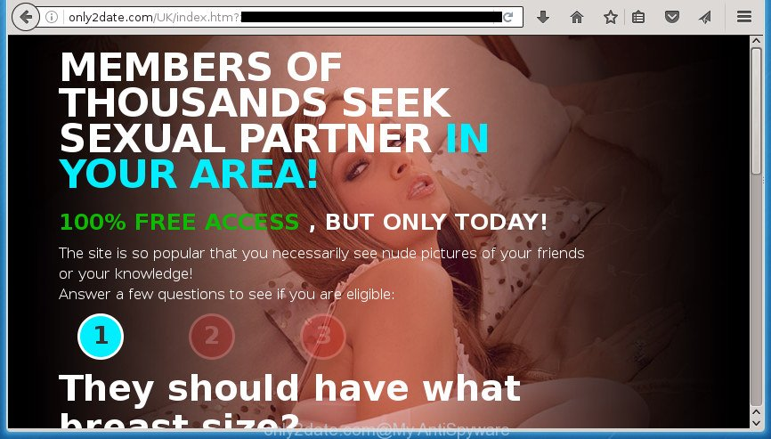 dating pop up ads
