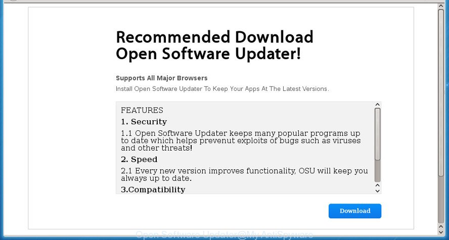 Open Software Updater