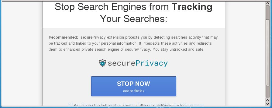 Stop Search Engines from Tracking