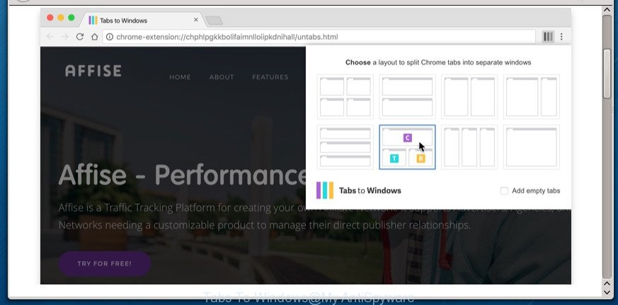 Tabs To Windows