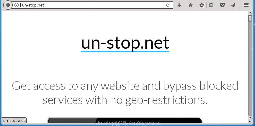 Un-stop