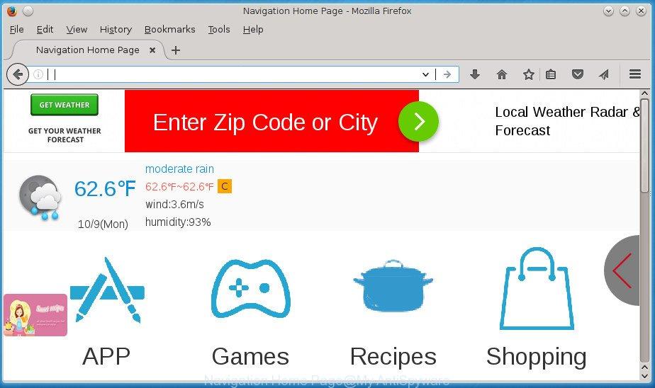 Navigation Home Page