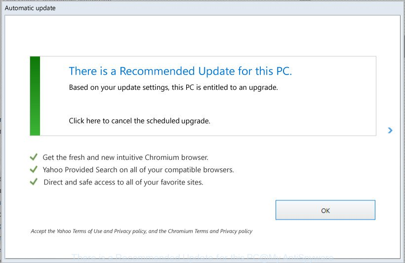 There is a Recommended Update for this PC