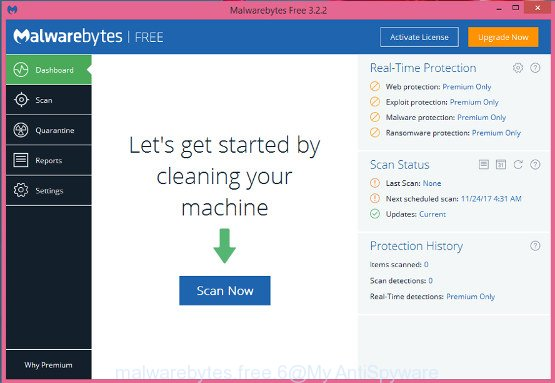 MalwareBytes for Microsoft Windows