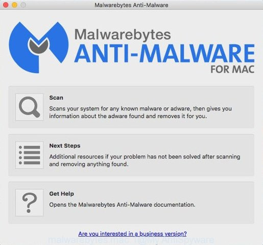 MalwareBytes Anti-Malware for Mac OS