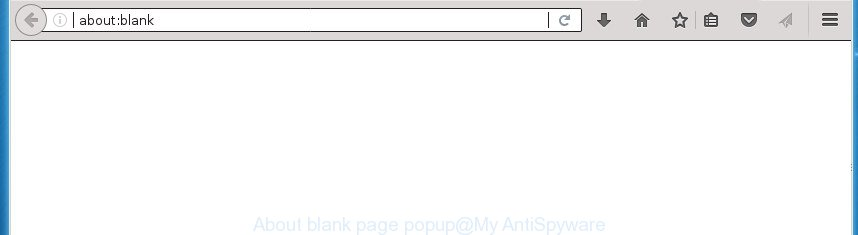 About:blank page popup