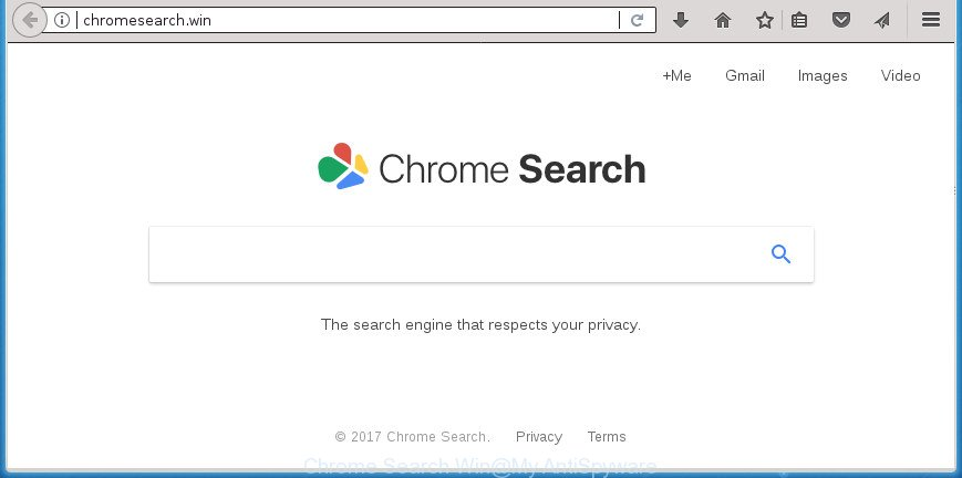 Chrome Search Win