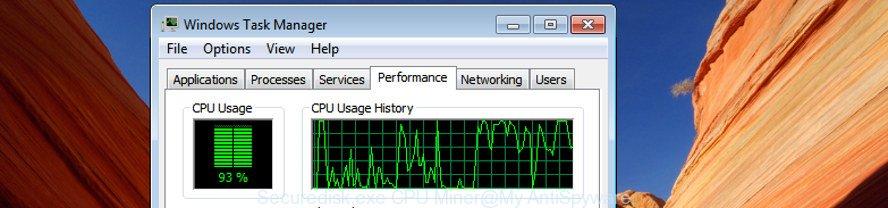 Securedisk.exe CPU Miner