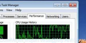 JS CoinMiner trojan virus