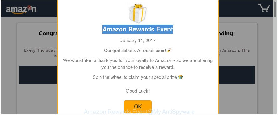 Amazon Rewards Event