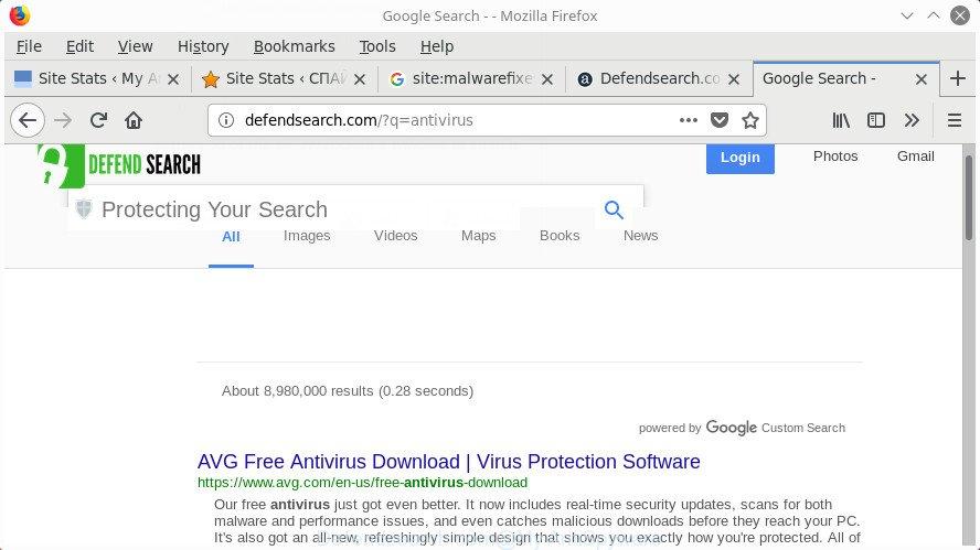Defendsearch.com