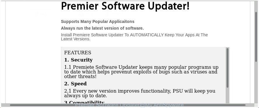Premier Software Updater
