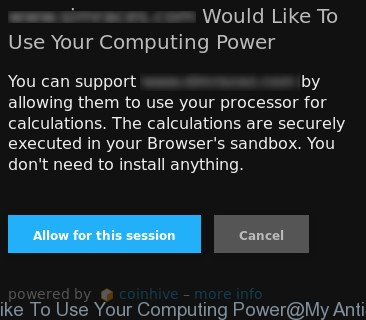 Would Like To Use Your Computing Power