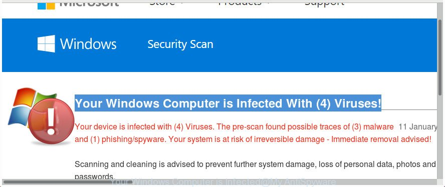 Your Windows Computer is Infected