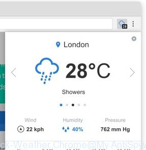 Check-Weather Chrome