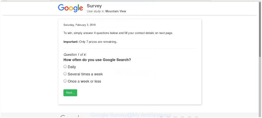 Google Survey