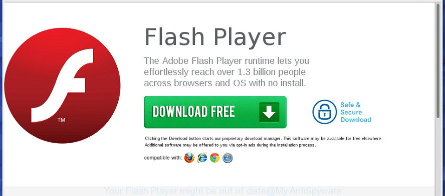 Your Flash Player might be out of date