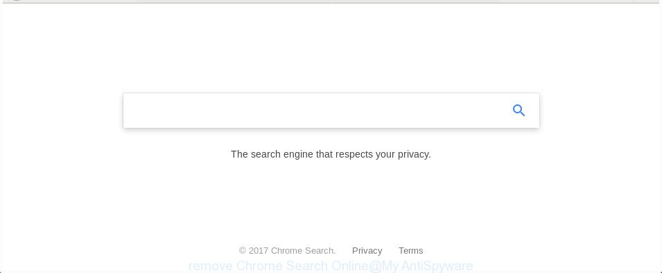 remove Chrome Search Online