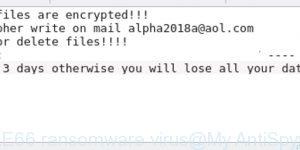 MOLE66 ransomware virus