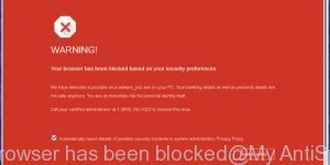 Your browser has been blocked