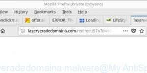 Laserveradedomaina malware