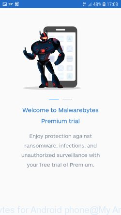 Malwarebytes for Android phone
