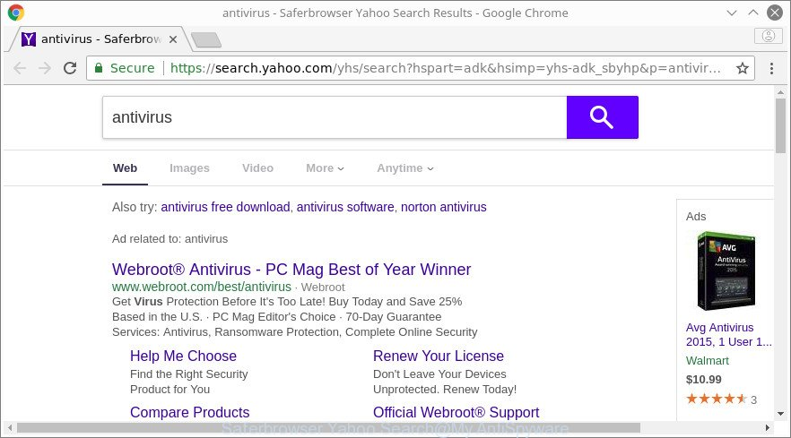 Saferbrowser Yahoo Search