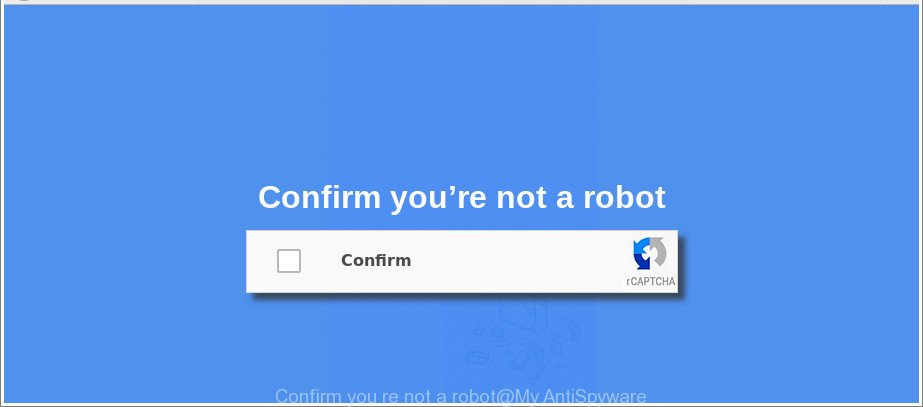 Confirm you re not a robot