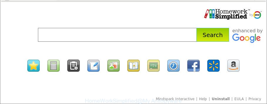 uninstall homework simplified toolbar