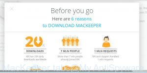 MacKeeper tabs