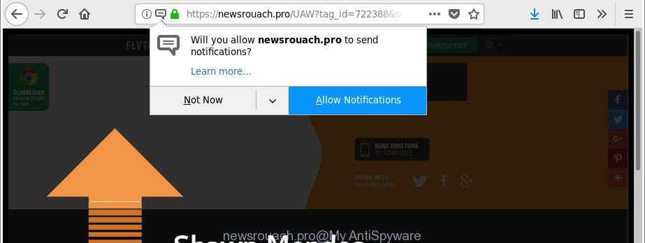 How to remove Newsrouach pro pop-ups [Chrome, Firefox, IE, Edge]
