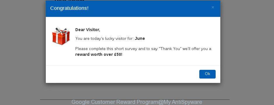 Google Customer Reward Program