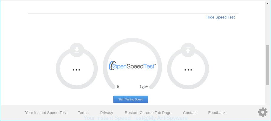 Your Instant Speed Test