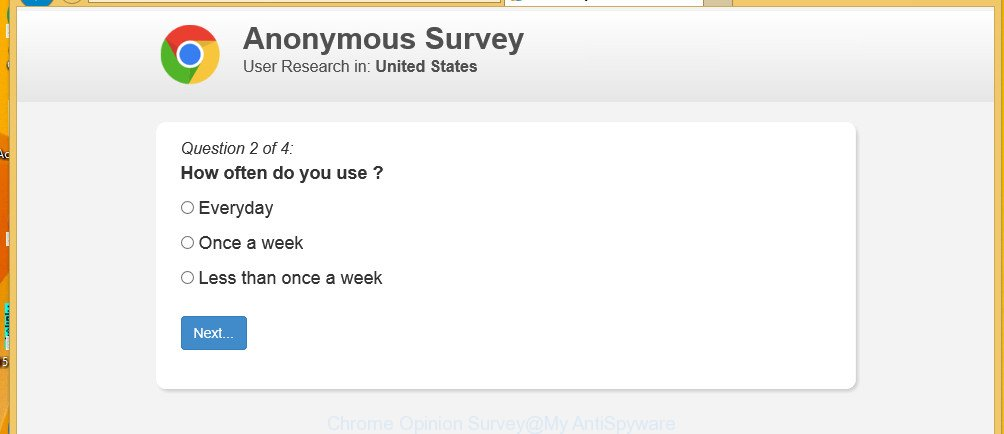 Chrome Opinion Survey