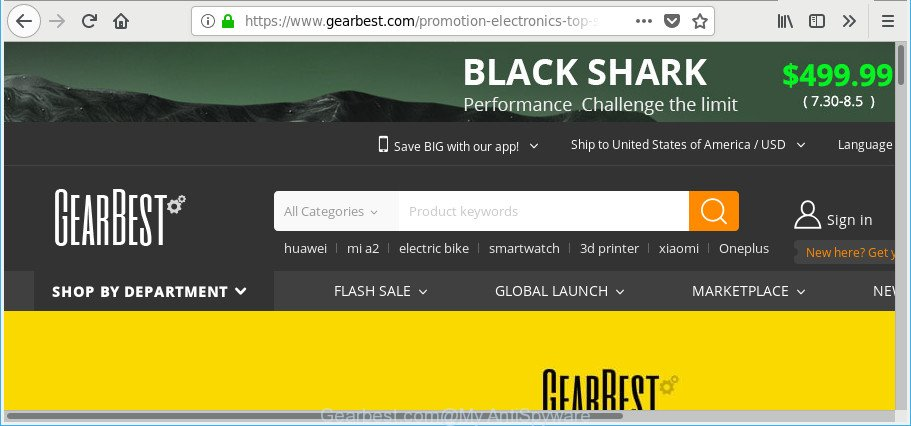 How to remove Gearbest com pop-up ads [Chrome, Firefox, IE